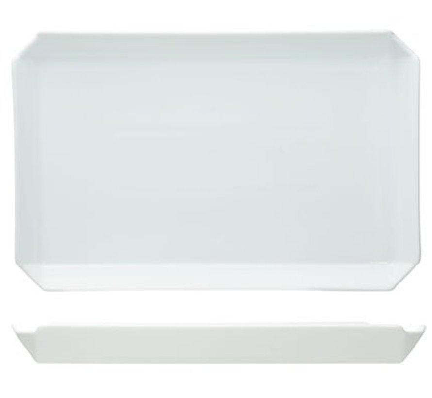 Edge Dessertbord 25.5x16.5xh2.4xcm