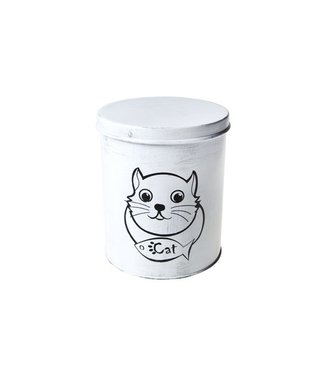 Cosy & Trendy Canister For Catfood  D15.5xh18cmrond