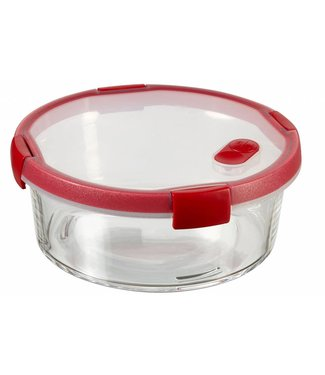 Curver Smart Glass Round Food Container 1.3ld20xh11cm (juego de 4)