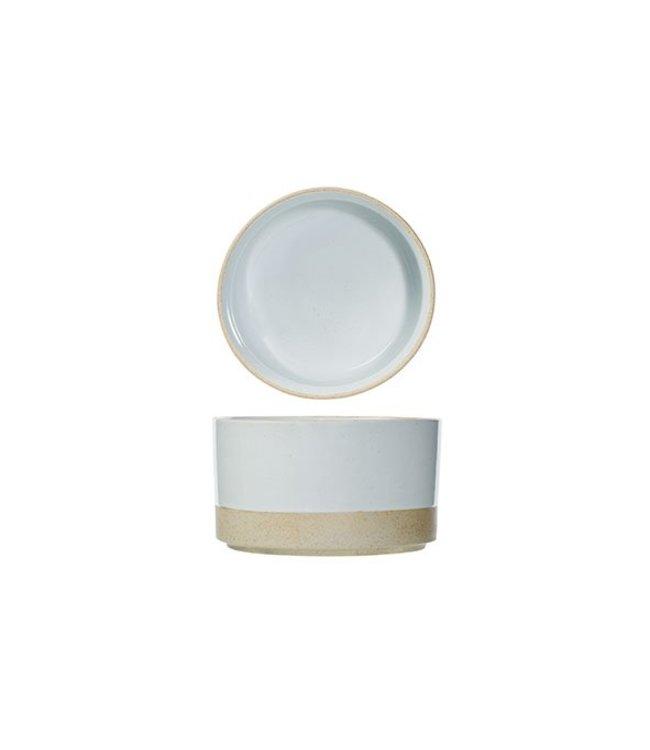Cosy & Trendy Concrete - Bowl - Gray - 14xh8cm - Ceramic - (set of 6).