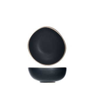 Cosy & Trendy Galloway-Black - Dish - D12xh4.7cm - Ceramic - (set of 12)