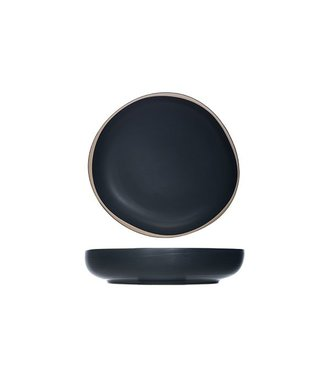 Cosy & Trendy Galloway Black Deep Plate D19xh4cm