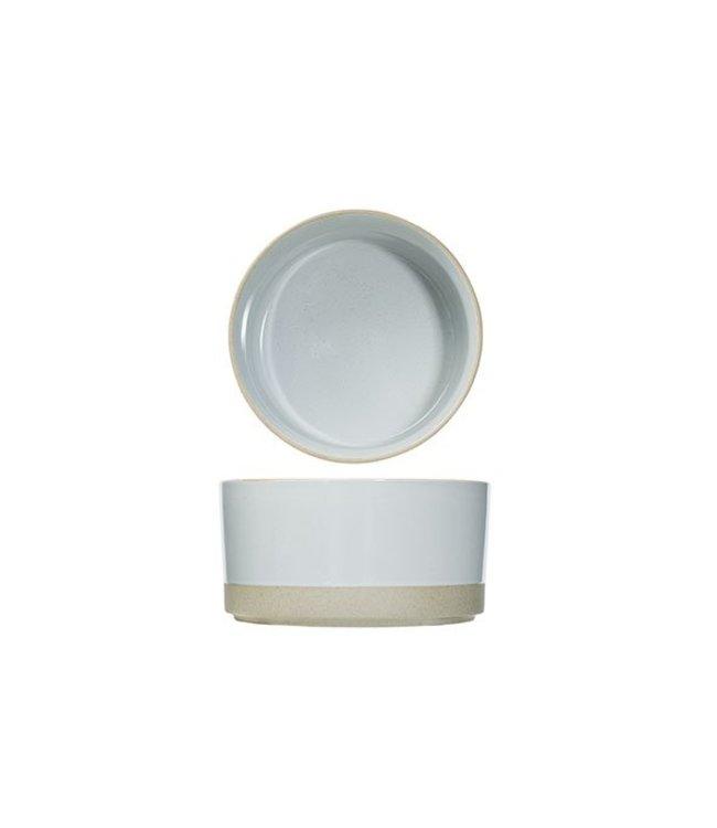 Cosy & Trendy Concrete - Bowl - Gray - D19xh9.8cm - Ceramic - (set of 6).