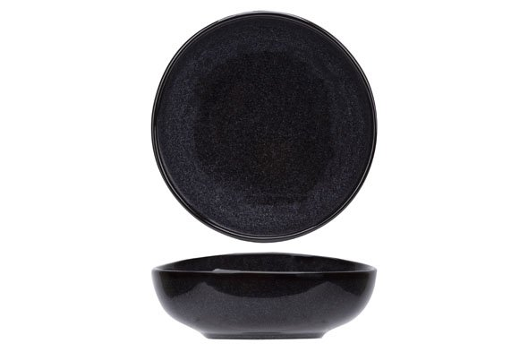 Cosy & Trendy For Professionals Black Granite Kommetje D14cm