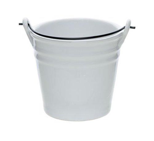 Cosy & Trendy Bucket White Mini Emmer D10.3xh9.7cm