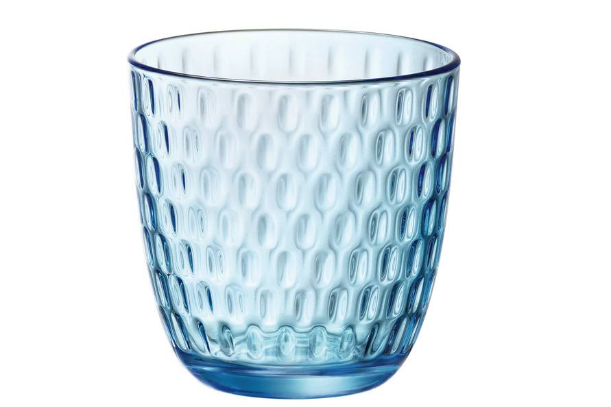 Bormioli Slot Glas Blauw 29 Cl