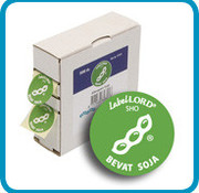 Labellord Allergenes Soy 25mm Set500 Labelsincl Box - 8.6x3.3x8.9cm