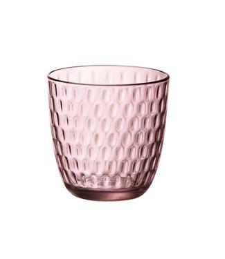 Bormioli Slot Glas Roze 29cl (set van 12)
