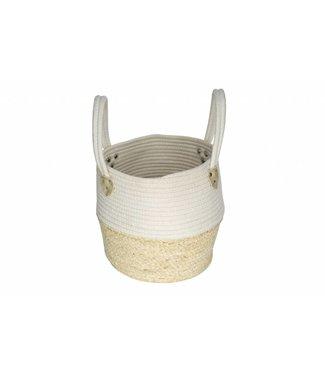 Cosy & Trendy Basket Natural Fibre-coton D30xh28cm
