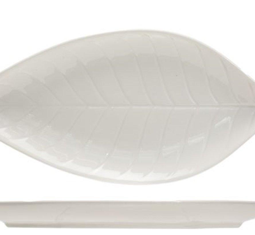 Foglia Apero Plate 18.3x8.5cmleave Shape