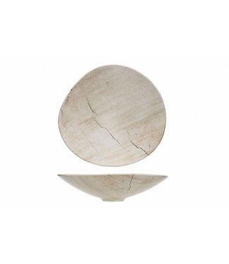 Cosy & Trendy Lithos - Bowl - 29.5x28xh6.5cm - Ceramic - (set of 2)