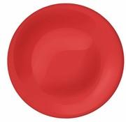 Bormioli New Acqua Tone Berry Red Diner Plat 26.8