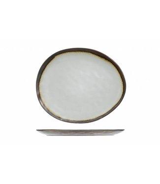 Cosy & Trendy Mercurio Plate Oval 27x23cm (set di 4)