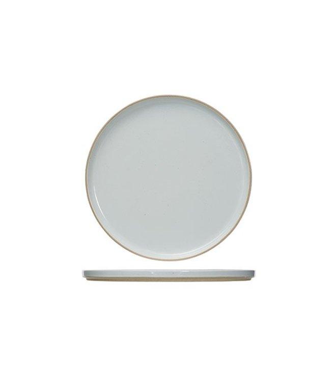 Cosy & Trendy Concrete Dessert Plate D22.5cm - Ceramic - (Set of 6)
