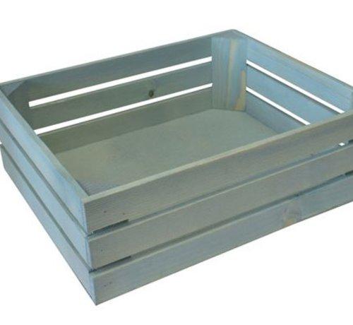 BISETTI Gnbox 1-2 Wood Azurra 32x26xh10.5cm