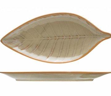 CT Limerick Aperitiefschaaltje bladerenvorm 13*6.1 cm set van 8