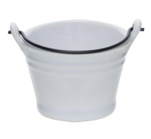 Cosy & Trendy Bucket White Mini Emmer D7.8xh5.5cm