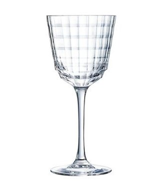 Cristal D'arques Iroko Wine  25 Cl (set of 6)