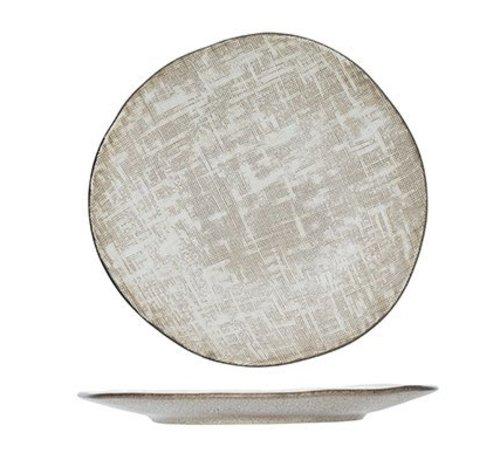 CT Tattersall Dessertbord Beige D 21cm