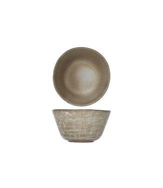 Cosy & Trendy Tattersall Breakfast Bowl Beige D15.5cm H8cm