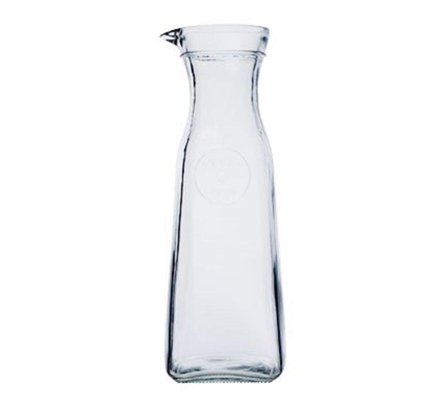 Carafe Glass 1l 9.2x9.2x26.8cm