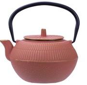 CT Kinosaki Teekanne aus Terrakotta 1,2l Gusseisen