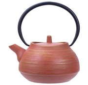 CT Mountain Teapot Terracotta With Filter 1,1l cast iron