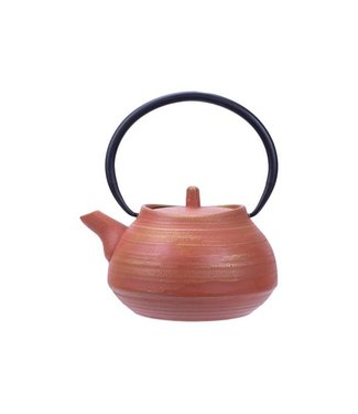 Cosy & Trendy Mountain Teapot Terracotta With Filter 1,1l cast iron