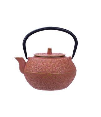 Cosy & Trendy Takayama Teekanne aus Terrakotta 1,2l Gusseisen
