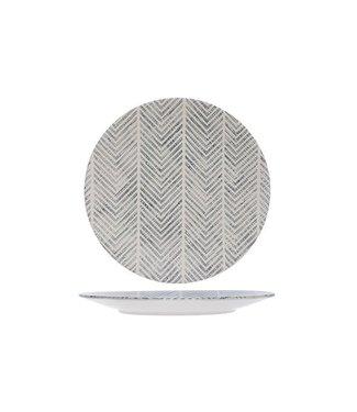 Cosy & Trendy Stone Tribu Ege Bord in Aardewerk - D25 cm (set van 6)
