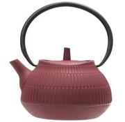 CT Yokohama Teapot Red 1,1l Cast iron