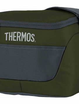 Thermos New Classic Koeltas 6 Can Donkergroen23x16,5xh18cm