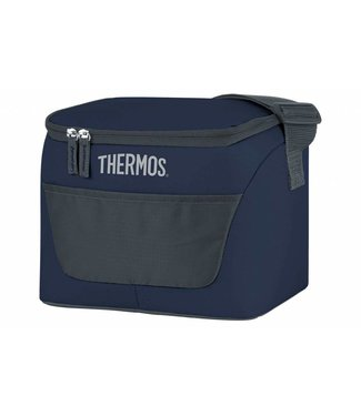 Thermos New Classic Cooler Bag 6.5l Dark Blue24x18,5xh20cm - 9 Can - 4.5h Cold