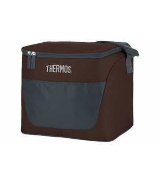Thermos New Classic Cooler Bag 13l Brown 28x20,5xh24cm - 24 Can - 6.5h Cold