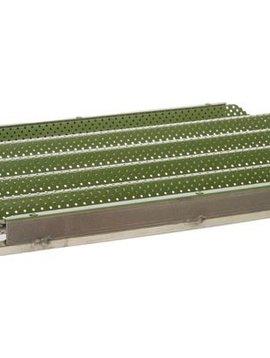 Cosy & Trendy For Professionals Ct Prof Bn Bakvorm Baquette 40x60 Zwartgecoated - 8 Kanalen Met 6cm Diameter