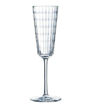 Cristal D'arques Iroko Flute 17 Cl (set of 6)