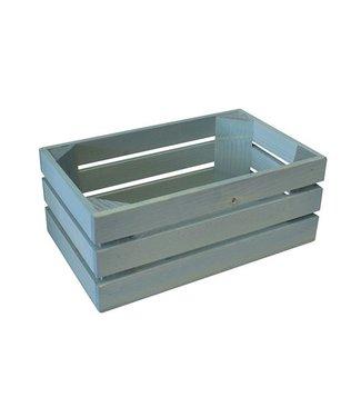 BISETTI Gnbox 1-4 Wood Azzurra 26x15.7xh10.5cm