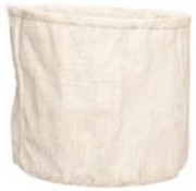 Cosy @ Home Bloempot Creme 27,5x26xh23,5cm Rond Cement