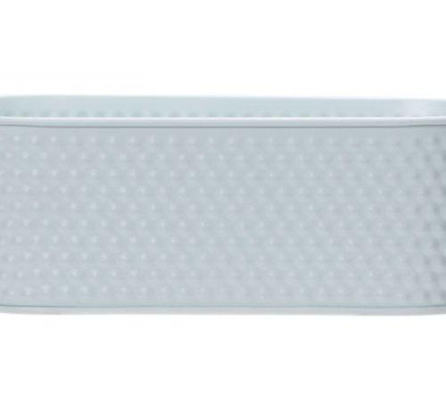 Cosy @ Home Plantenbak Mint 27x24,5xh9,4cm Ovaal Metaal