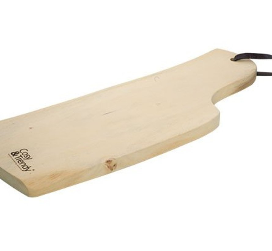 Organic Wood Serveerplank 35-45x13-16xh2cm Acacia