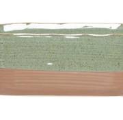 Cosy @ Home Plantenbak Duo Groen 25x11xh10cm Ovaal Aardewerk