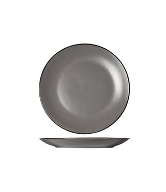 Cosy & Trendy Speckle Gray Plat Board D27cmblack Tablero S6
