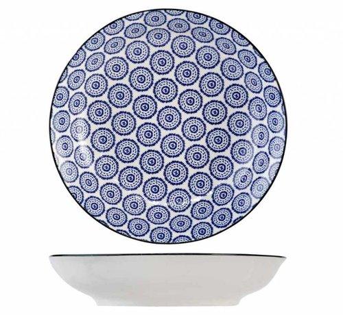 CT Tavola Blue Deep Plate D20.5cm