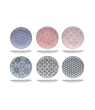 Cosy & Trendy Delirio Dessert Plate D19cm  - Ceramic - (Set of 6)