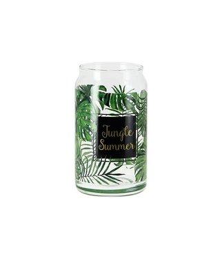 Cerve Glazen Bokaal Deksel Jungle 450cc Ds6m71410