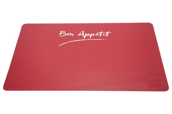 Cosy & Trendy Placemat Rood Transparant 43.5x28.5cm