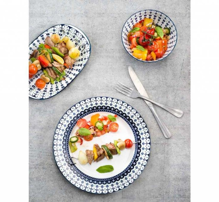 Hygge Dessertbord D19cm new Bone China set van 6