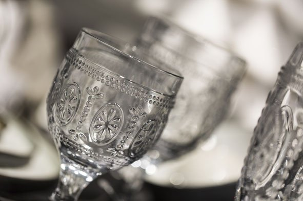 CT Victoria Pink Wijnglas 12cl D7,5xh20cm (set van 4)