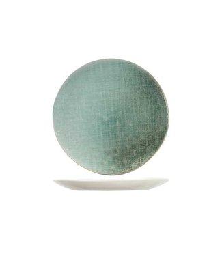 Cosy & Trendy Jacinto-Green - Dessertbord - D21,5cm - Porselein - (Set van 6)