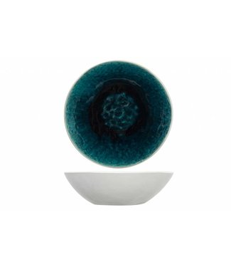 Cosy & Trendy Chiara Petrol Suppenteller - Keramik - D18xh5,5cm (6er Set)